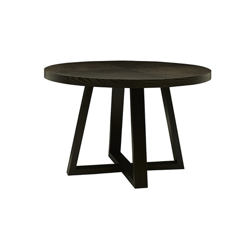 Ascot Round Dining Table - Mocca Ash