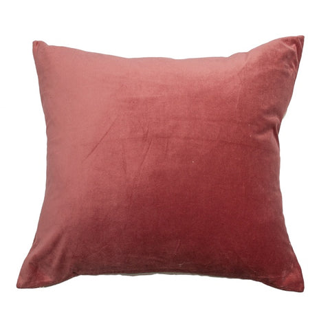 Essential Velvet Cushion - Shimmering Rose