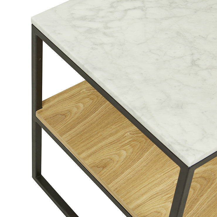 Baxter Marble Shelf Side Table