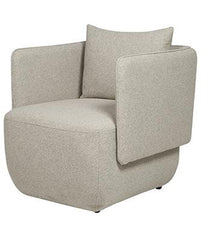 Felix Cocoon Occasional Chair- Light Grey - Established for Design