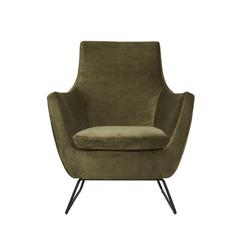 Juno Dakota Sofa Chair - Hunter Green