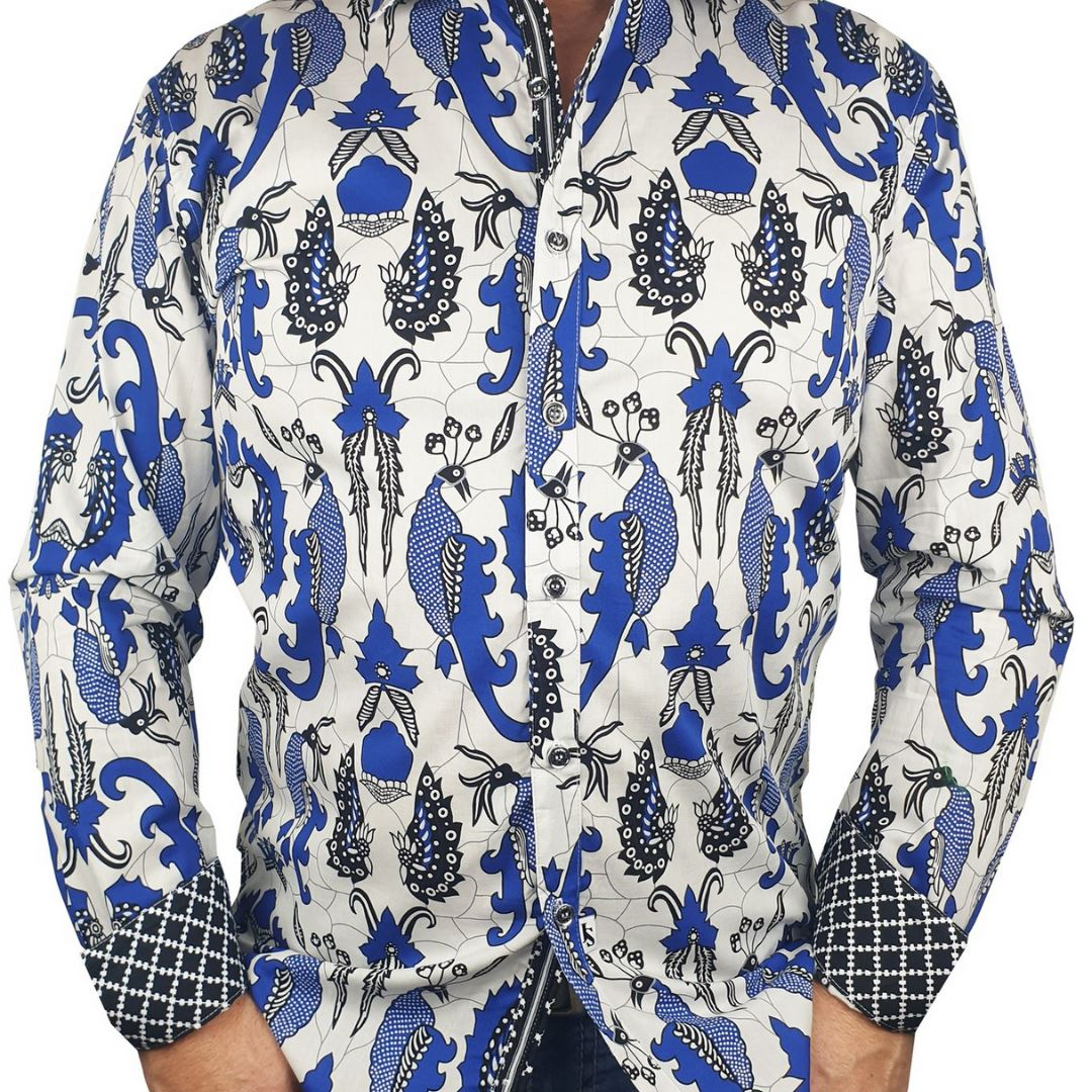 Jimmy Stuart Fantail Long Sleeve Shirt