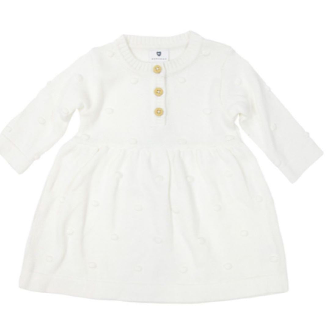 Korango Spot Knit Dress Childrens dress Korango