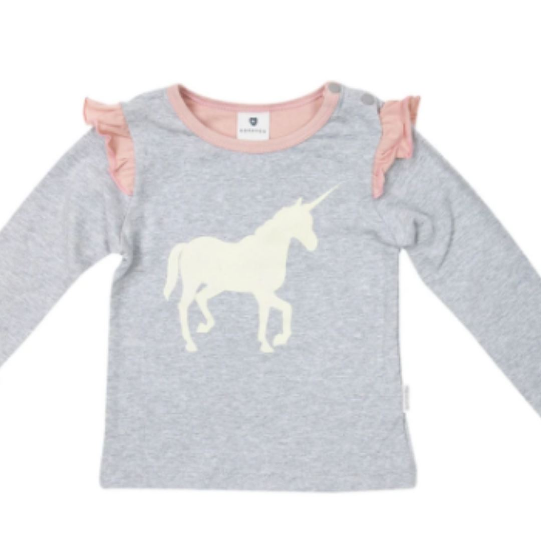 Korango Unicorns and Rainbows Top