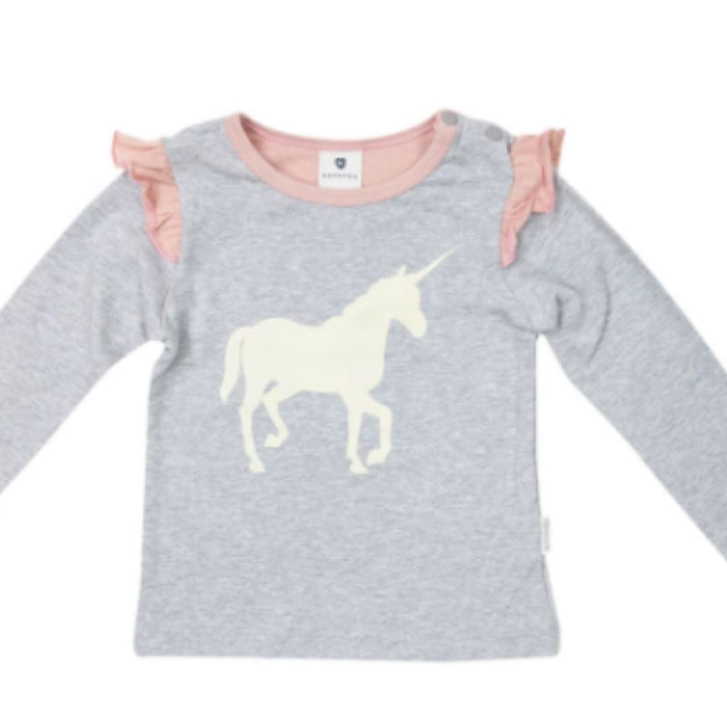 Korango Unicorns and Rainbows Top Baby Top Korango