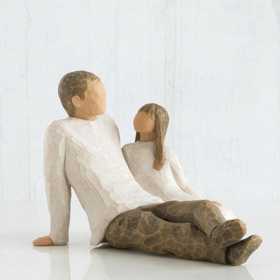 Willow Tree - Father & Daughter Figurines Willow Tree