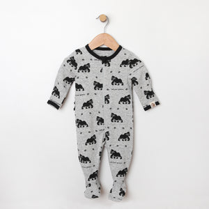 Gorilla Footie with Ruffle