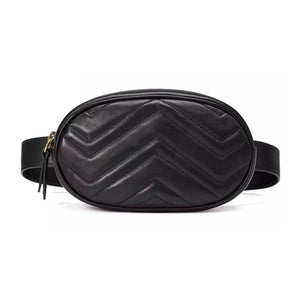 Small Leather Waist Bag