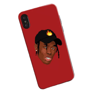 Travis Emoji iPhone Case
