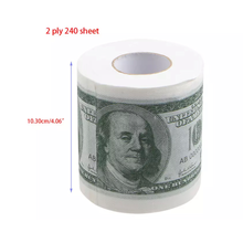 Load image into Gallery viewer, Money Print Toilet Paper