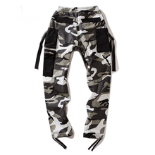 Load image into Gallery viewer, Strapped Camo Pants