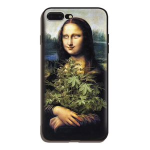 Stoner Lisa iPhone Case