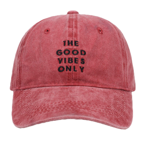 The Good Vibes Dad Hat