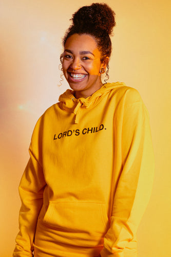 LORD'S CHILD. GOLD HOODIE