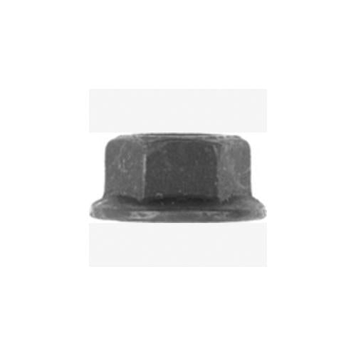 Met Hex Flange Nut Blk 11.8mm