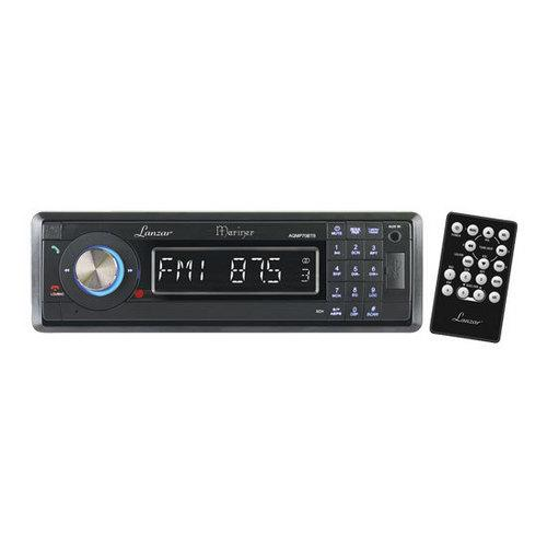 AM/FM-MPX In-Dash Marine Detachable Face Radio w/SD/MMC/USB Player & Bluetooth Wireless Technology