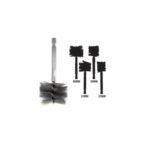 25-40 MM Stainless Steel Brush Kit