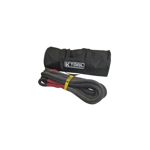 "Recovery Tow Rope 7/8"" x 30', Red Eyes"