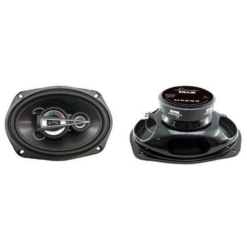 "6"" x 9"" 600 Watts 3 Way Triaxial Speakers"