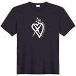 CHRISTEE PALACE BLACK LOGO TEE