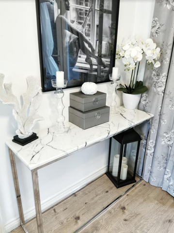 Marmo Marble Console Table