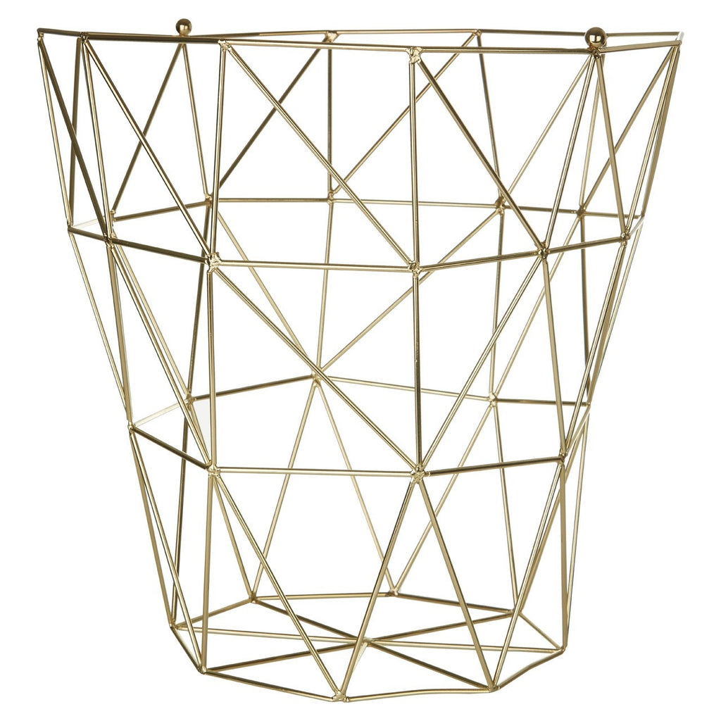 Galaxy Gold Storage Basket