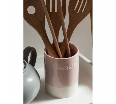 Pink Utensil Holder