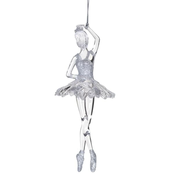 Glitter Ballerina Decoration