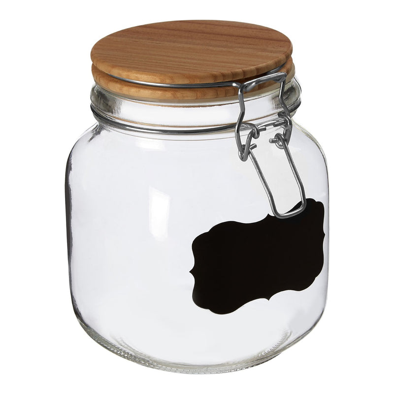 Small Chalkboard Storage Jar