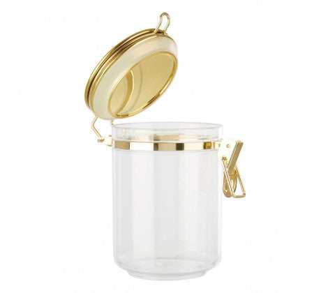 Medium Gold Clip Canister