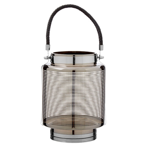 Large Nickel Stripe Lantern