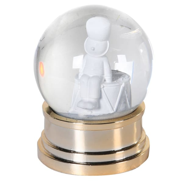 Gold Base Snow Globe