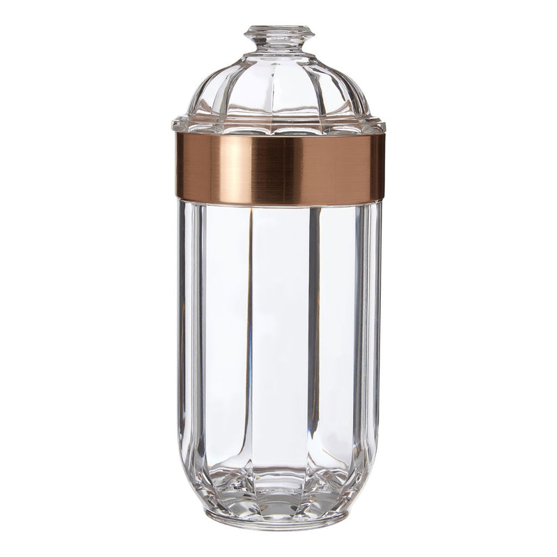 Large Rose Gold Canister