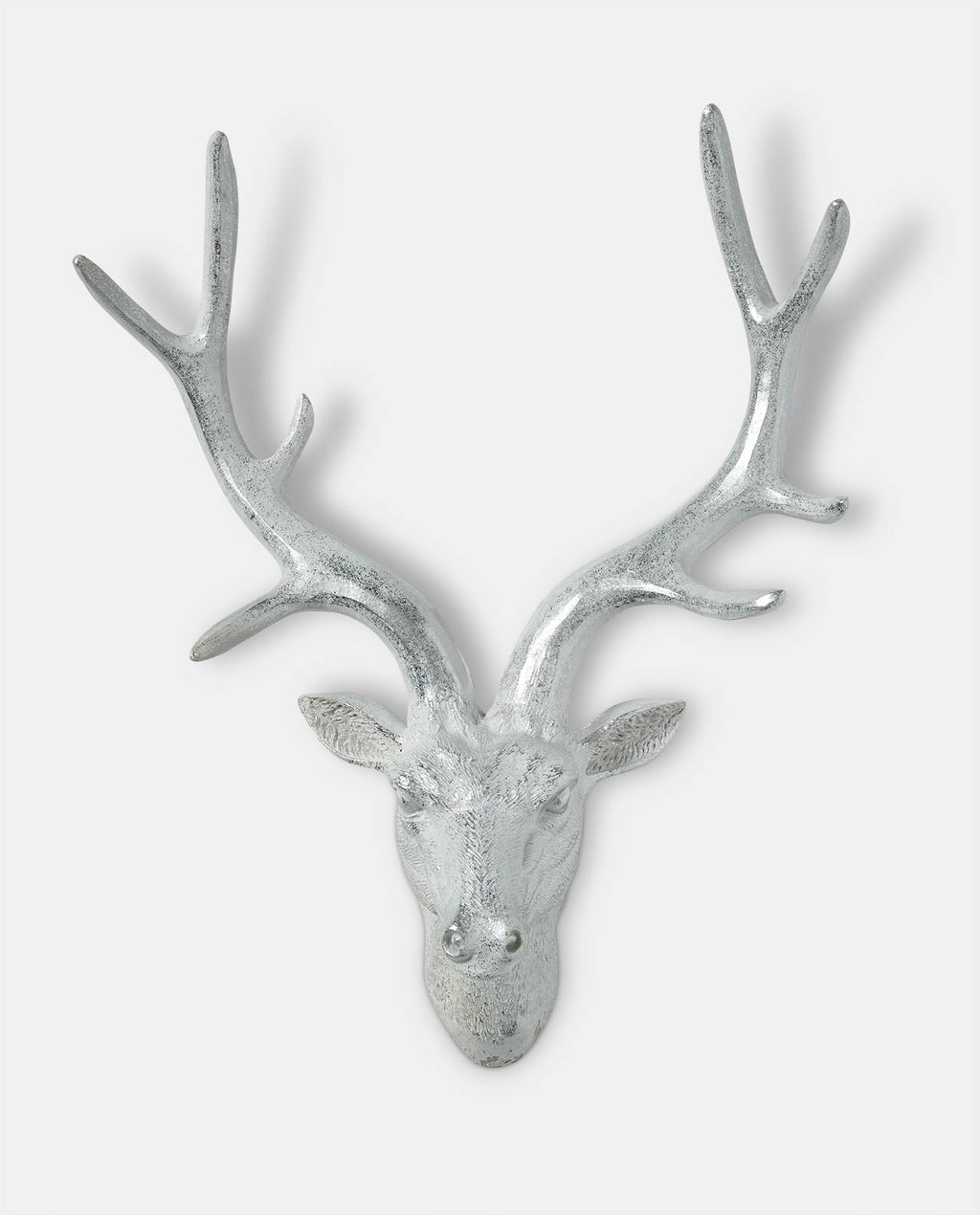 Silver Deer Wall Ornament
