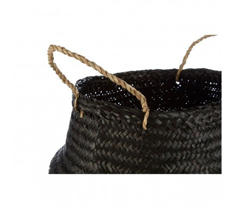 Medium Silver Seagrass Basket