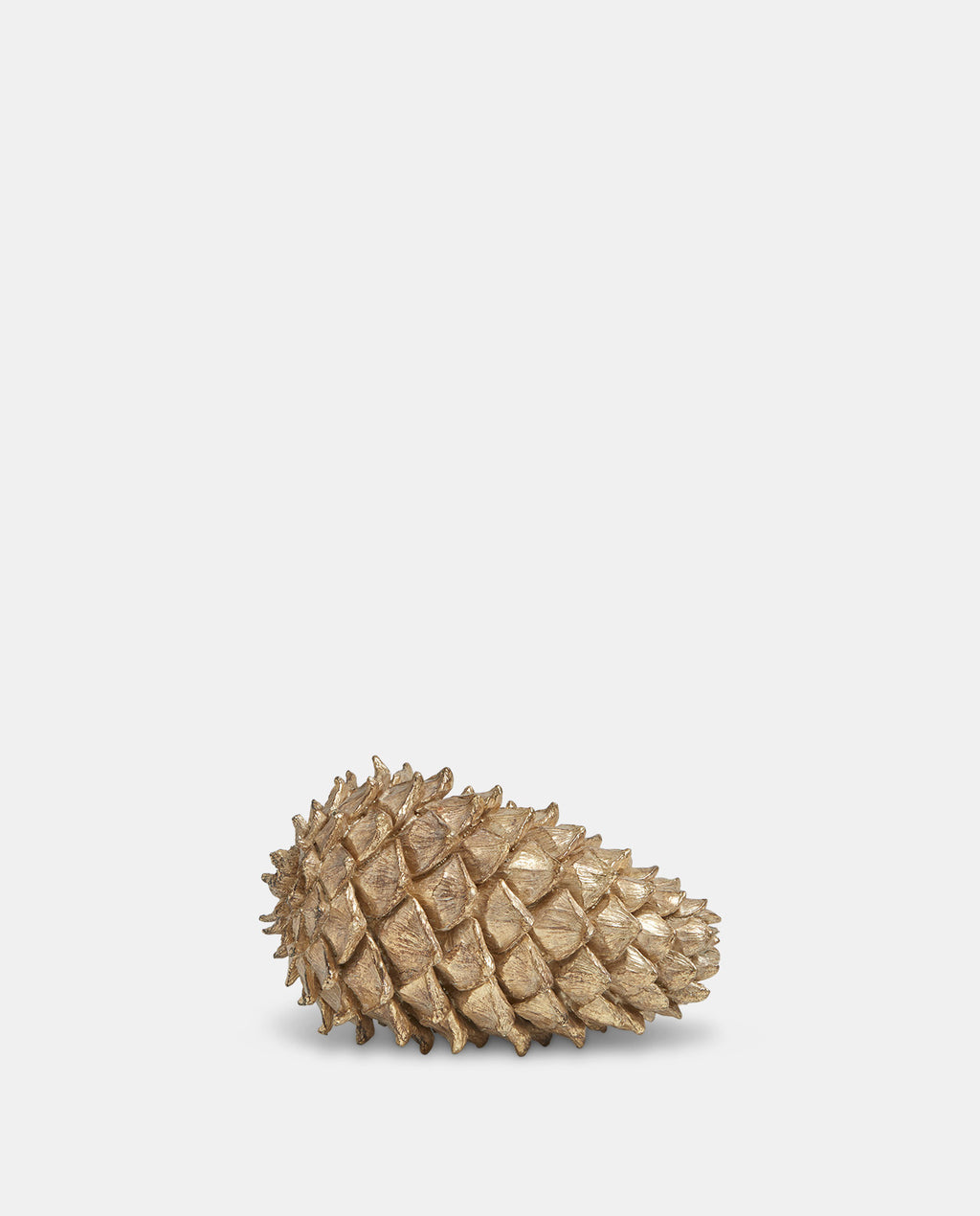 Small Gold Pinecone Decoration