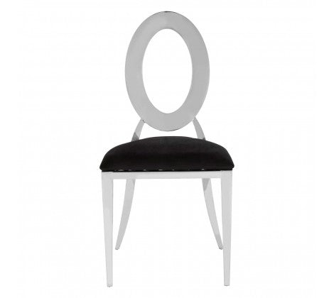 Scarlet Clear Dining Chair