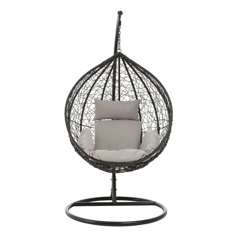 Black Hanging Egg Chair