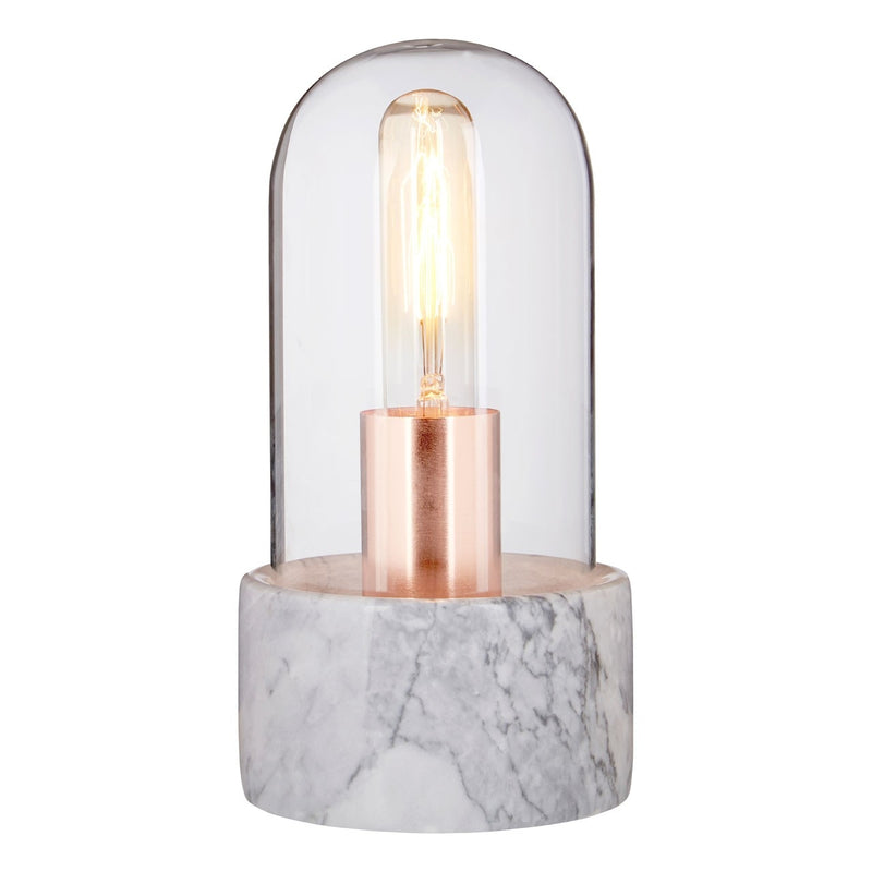 Caela Glass Bell Lamp
