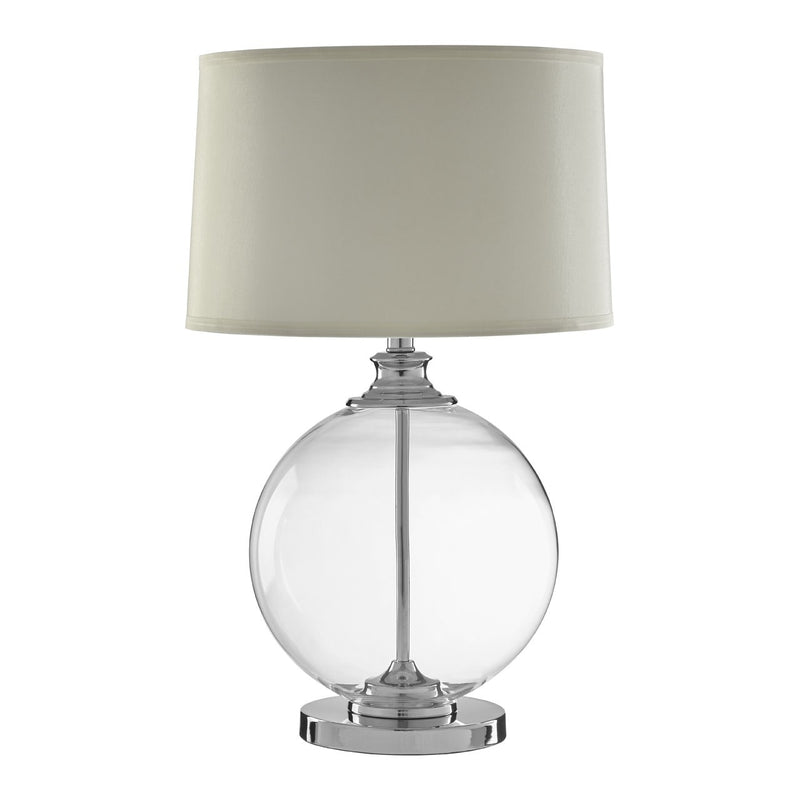 Aviary Clear Glass Table Lamp