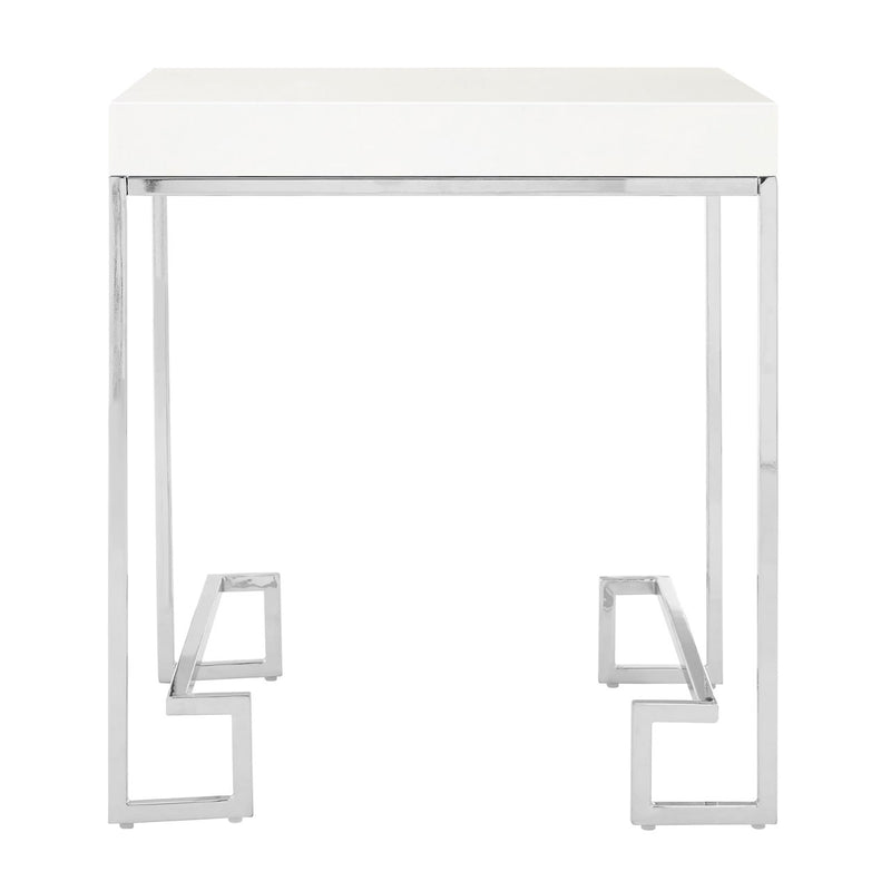 Palmer Chrome End Table