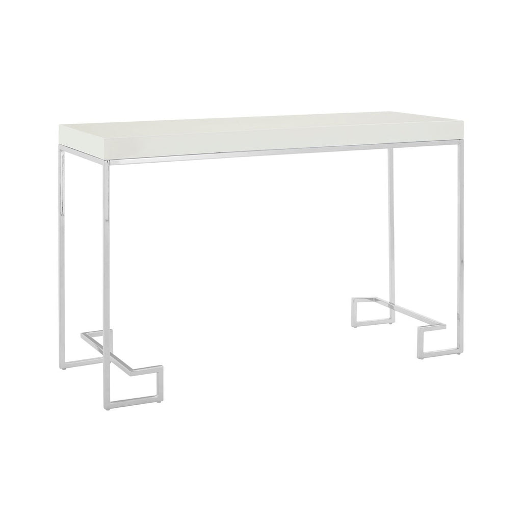 Palmer Chrome Console Table