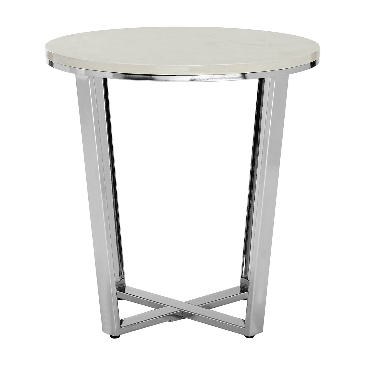 Prado Marble Effect End Table