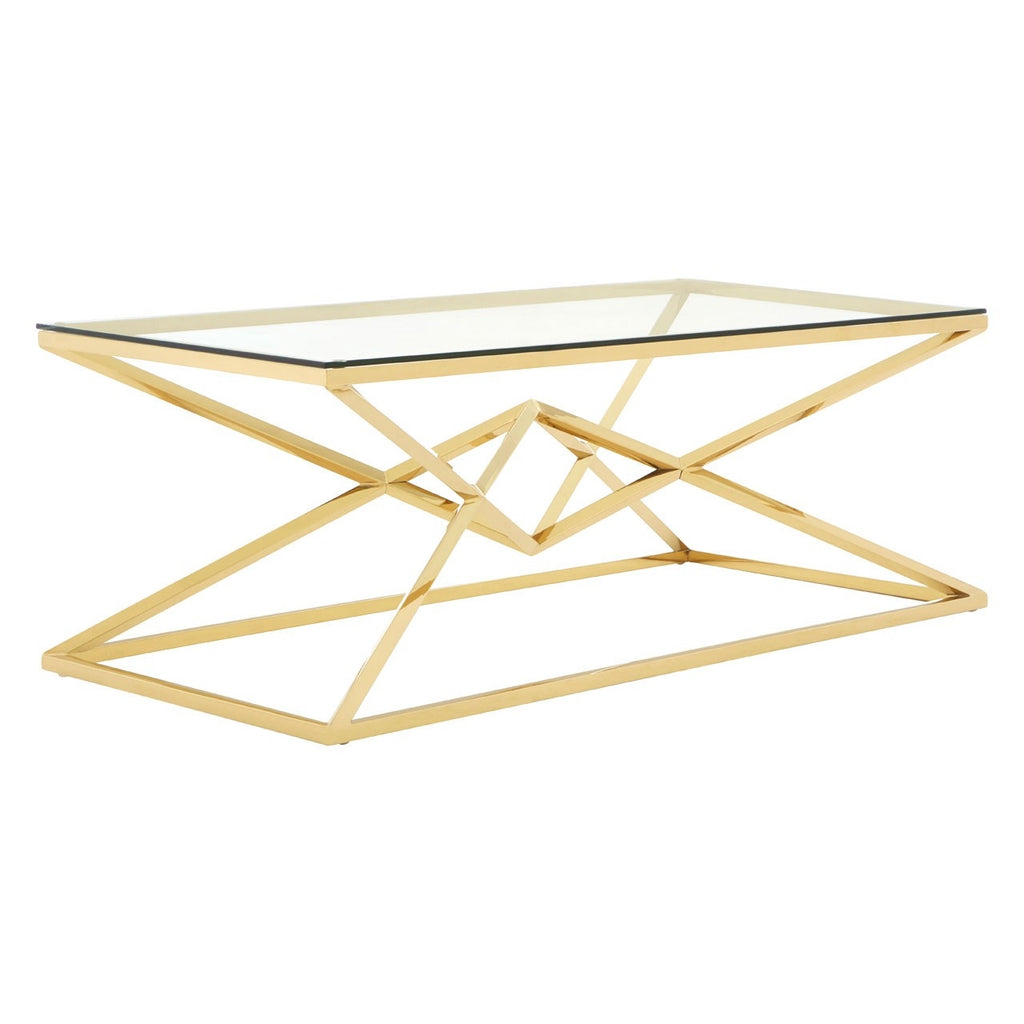 Asteroid Gold Coffee Table