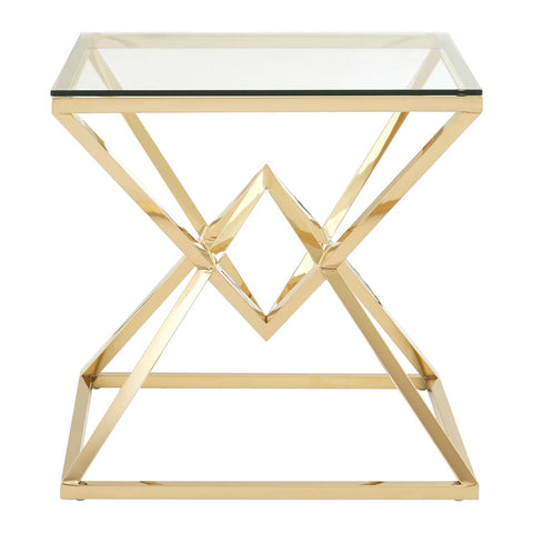 Asteroid Gold End Table
