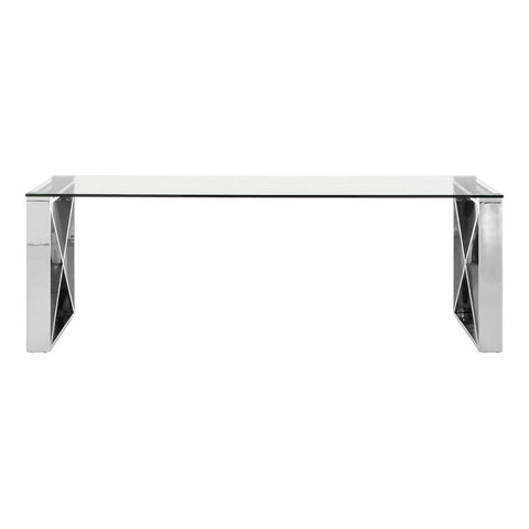 Horizon Silver Coffee Table