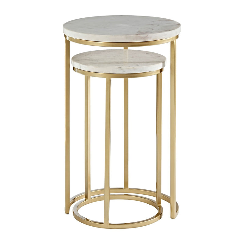 Alora Marble Nesting Tables