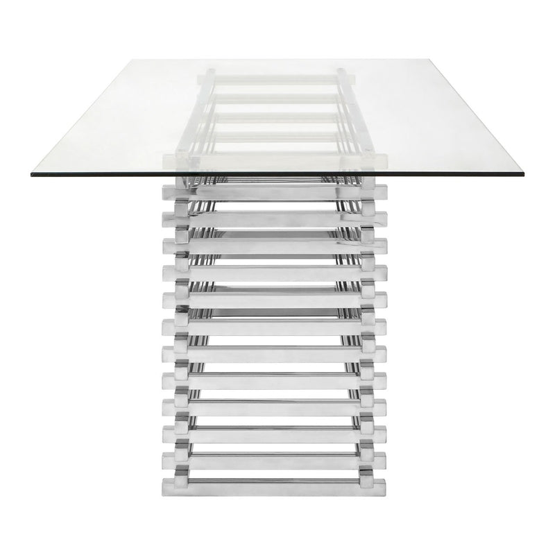 Serena Slatted Dining Table