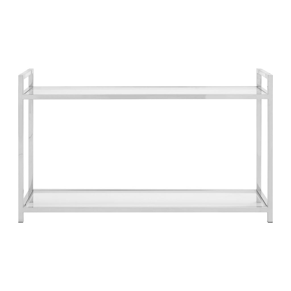 Serena Glass Console Table