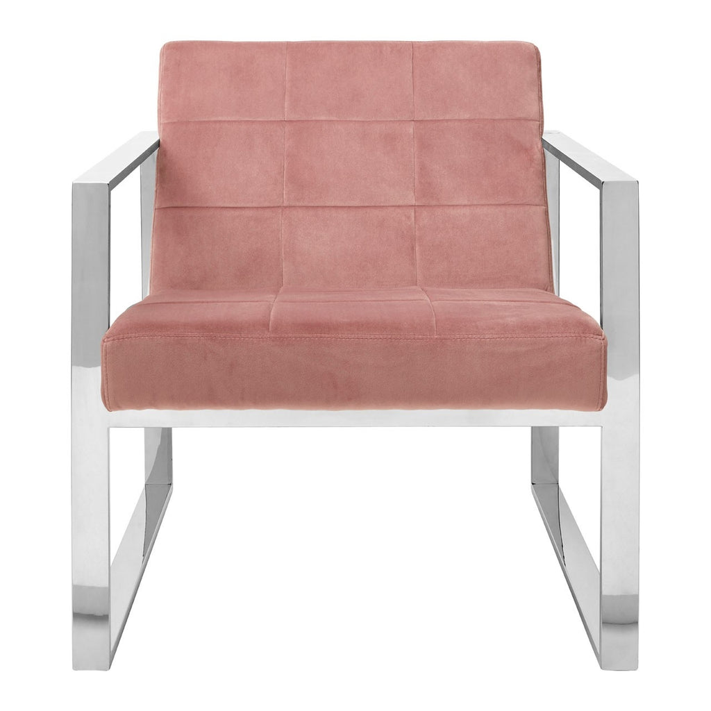 Serena Pink Cocktail Chair
